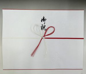 赤白花結び 白柾御祝